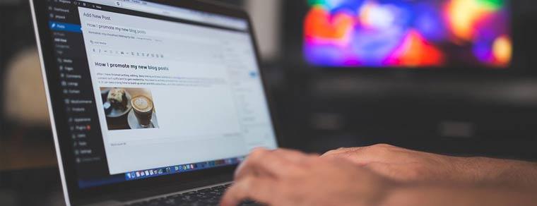 como criar um blog para atrair mais clientes - ingrediente 3: gerenciador de conteúdo